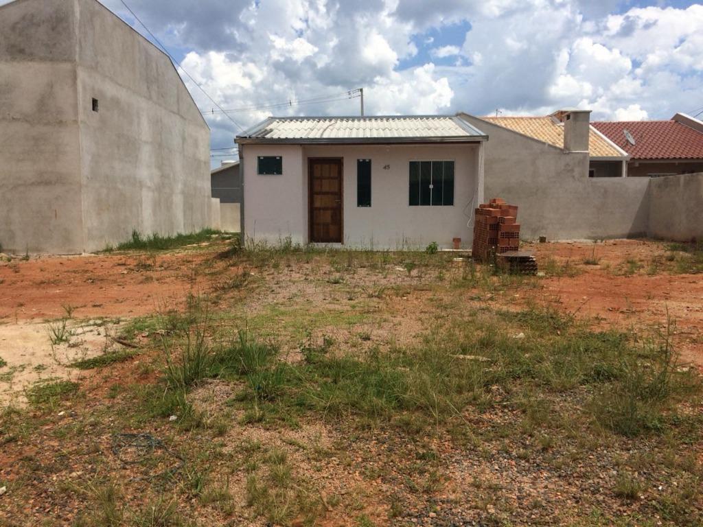 Casa para alugar, 43 m² por R$ 450/mês - Nações - Fazenda Ri