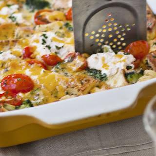 Vegetable Strata Ricotta Recipes
