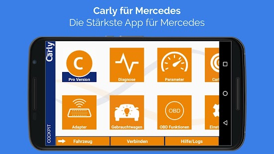 Carly für Mercedes Screenshot
