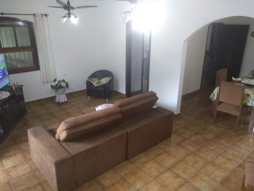 Casa com 4 dormitórios à venda, 160 m² por R$ 325.000 - Parque Balneário Oásis - Peruíbe/SP