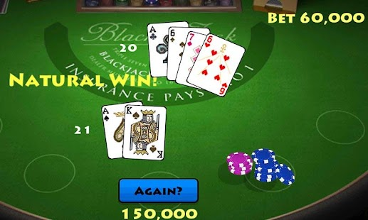 Pocket Blackjack 21 Vegas GO - screenshot