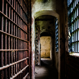 Historic Jailhouse by Trey Walker - Novices Only Objects & Still Life ( old, abandon, jail, nikon, rustic, abandoned )