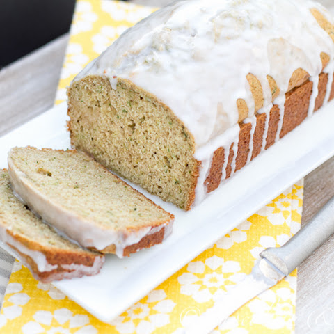 Lemon Glazed Zucchini Loaf