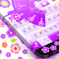 Flowers keyboard theme APK for Blackberry