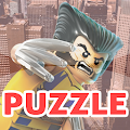 Puzzles Lego Wolverine APK for Bluestacks