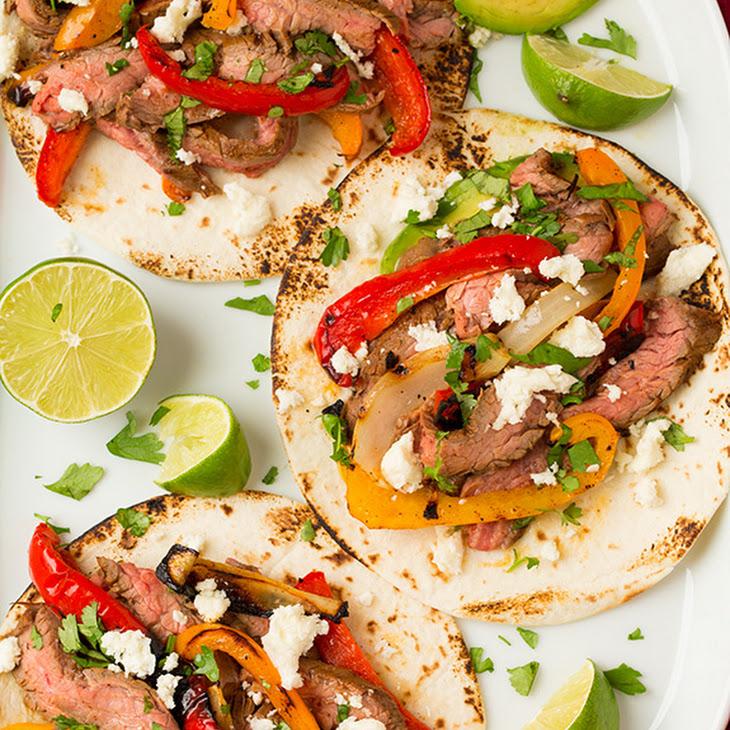 Grilled Steak Fajitas Recipe | Yummly