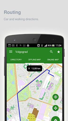 Volgograd Map offline screenshot 7