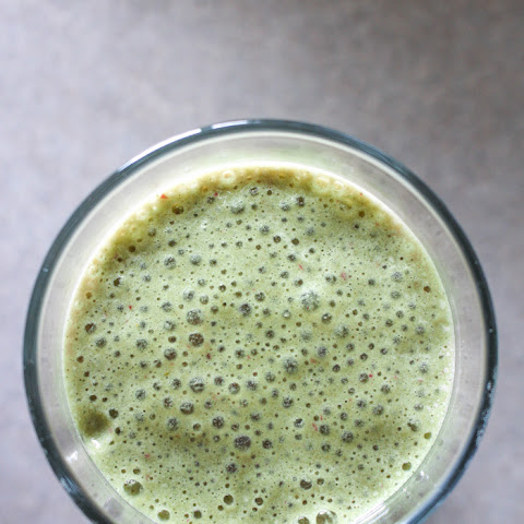 Green Tea Matcha Berry Smoothie