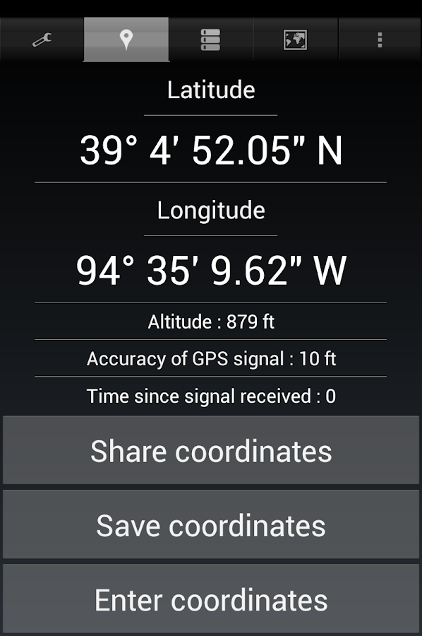 Share My GPS Coordinates Pro Screenshot 19