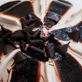 Chocolate ice cream by Suzana Trifkovic - Food & Drink Candy & Dessert ( chocolate, sweet, food, ice cream, dessert )