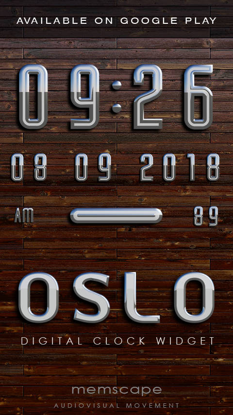 OSLO Next Launcher 3D Theme Screenshot 5
