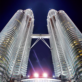 Petronas Tower by Irshad Rahimbux - Buildings & Architecture Architectural Detail