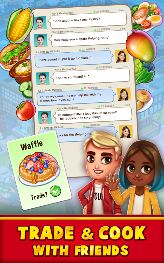 Food Street - Restaurant Management & Cooking Game Screenshot 9
