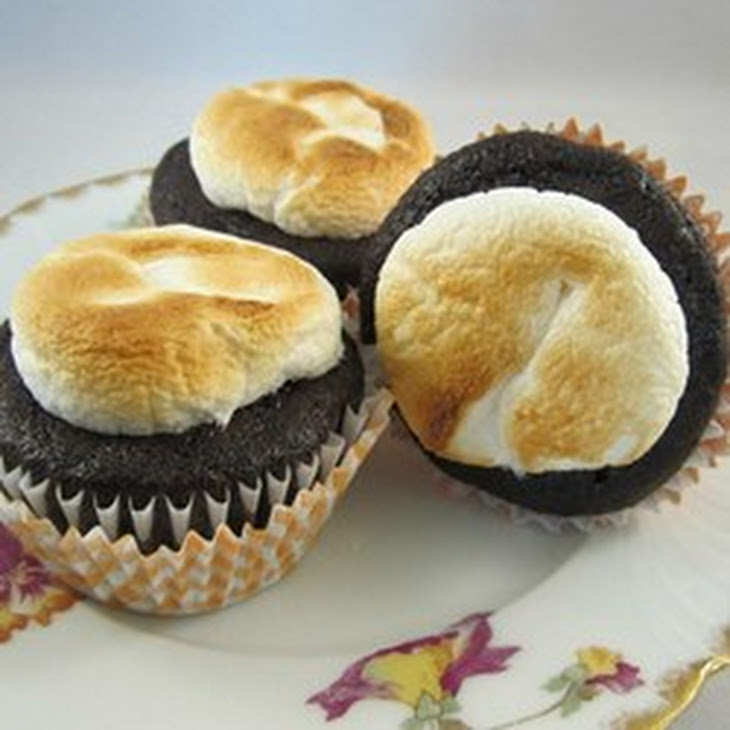 Toasted Marshmallow Cupcakes Recipe   Yummly