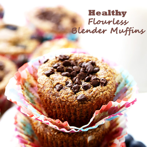 Healthy Flourless Blender Muffins