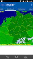 Screenshot of S-H Wetter