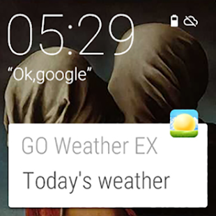 GO Weather Forecast & Widgets for Lollipop - Android 5.0