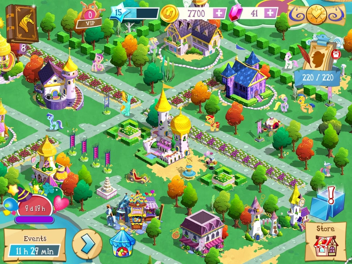 MY LITTLE PONY: Magic Princess Screenshot 4