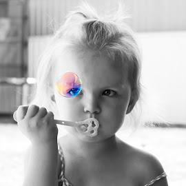 Bubbles by Renee C - Babies & Children Child Portraits (  )