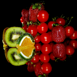 fruits,vegetables with candy by LADOCKi Elvira - Food & Drink Fruits & Vegetables ( fruits )