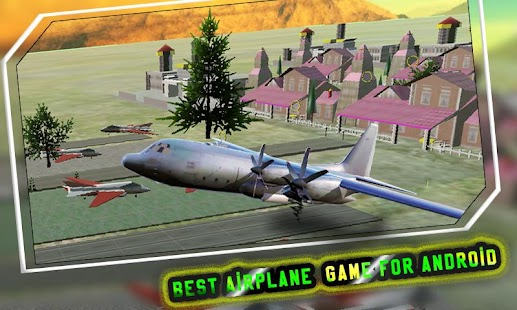 Pilot Airplane Driving Sim 3D - screenshot