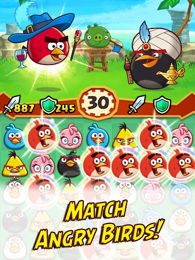 Angry Birds Fight! RPG Puzzle - screenshot