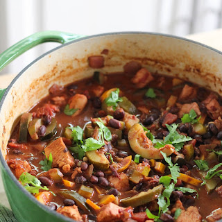 Chicken And Zucchini Chili