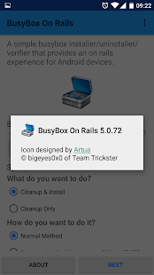 BusyBox On Rails Screenshot