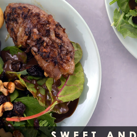 Sweet and Tangy Red Wine Steak
