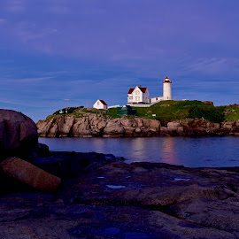 The Nubble Light by Joe Fazio - Buildings & Architecture Public & Historical (  )