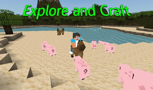 Exploration Block : 3D Craft & Build