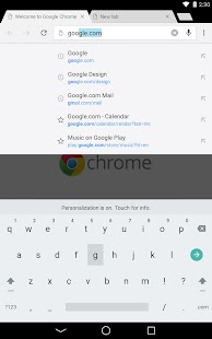 Chrome Dev APK for Blackberry