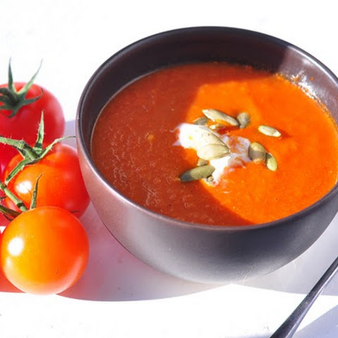 Roasted Plum Tomato Soup