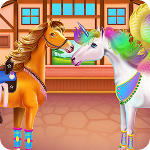 Download Horse and Unicorn Caring for PC