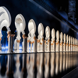 Sheikh Zayed Grand Mosque by Aamir Saleem - Buildings & Architecture Public & Historical ( mosque, uae, buildings, abu dhabi, architecture )