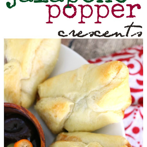 Barbecue Bacon Jalapeno Popper Crescents