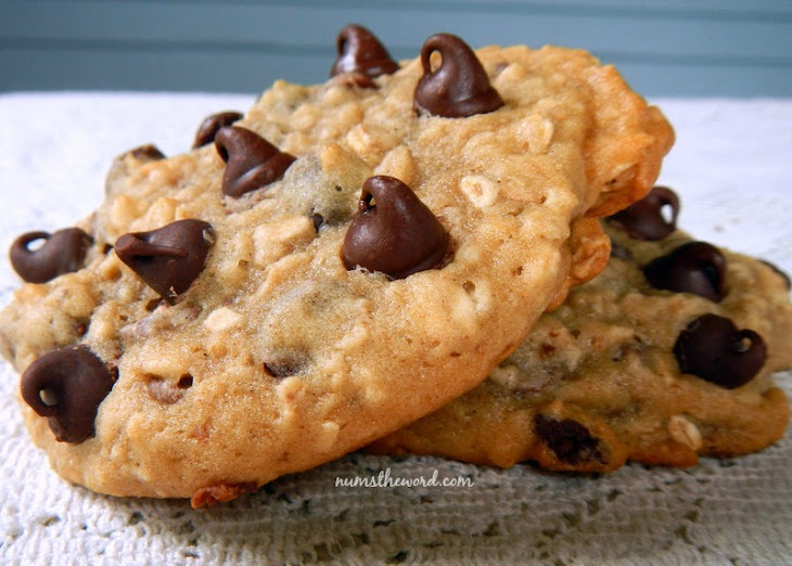 Banana, Oatmeal, Chocolate Chip Cookies Recipe   Yummly