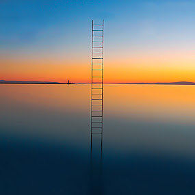 Stairway to heaven by Ivana Miletic - Landscapes Waterscapes ( scale, sea, long exposure, ivana miletic, sun )