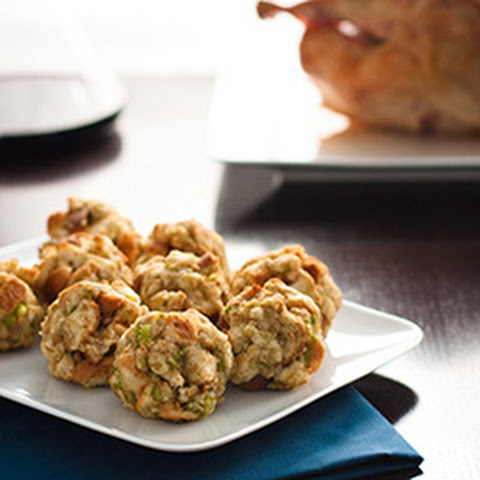 How to Make Thanksgiving Turkey Stuffing Balls