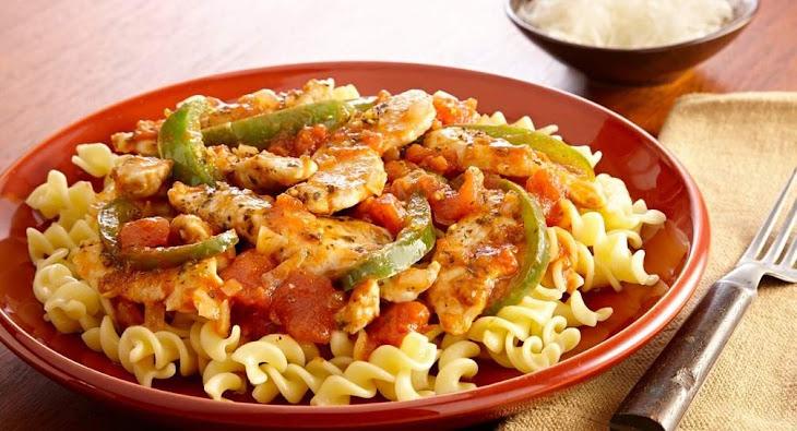 Quick and Easy Chicken Cacciatore Recipe   Yummly