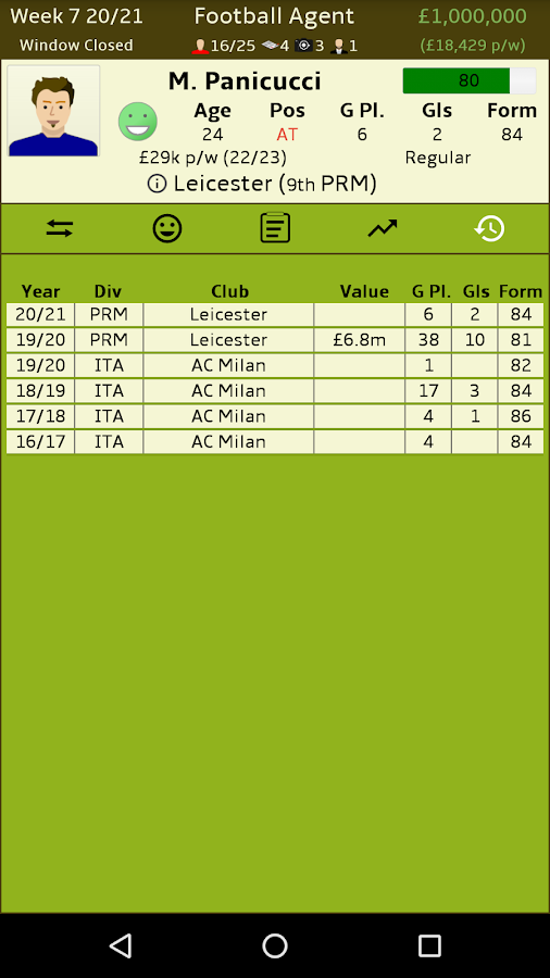 Football Agent Screenshot 5