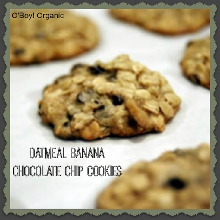 Oatmeal Banana Chocolate Chip Cookies Recipe   Yummly