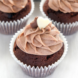 Baileys Ultimate Chocolate Cupcakes With A Surprise Inside