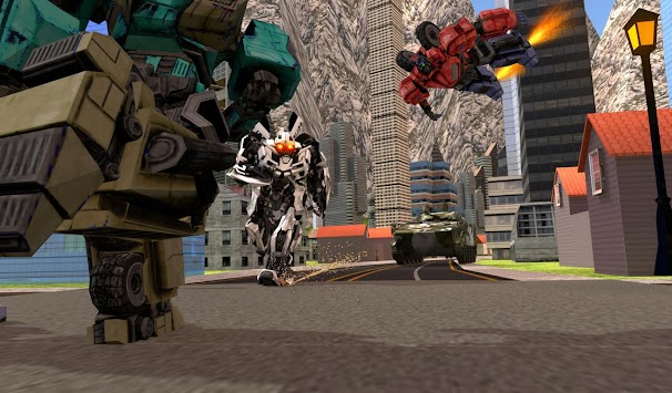 Robots War In City APK screenshot thumbnail 5