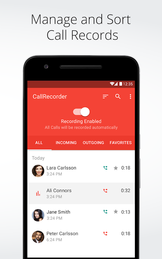 Automatic Call Recorder for Me Screenshot 3