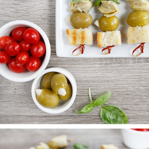 Vegan Antipasto Kabobs – Healthy Tailgating