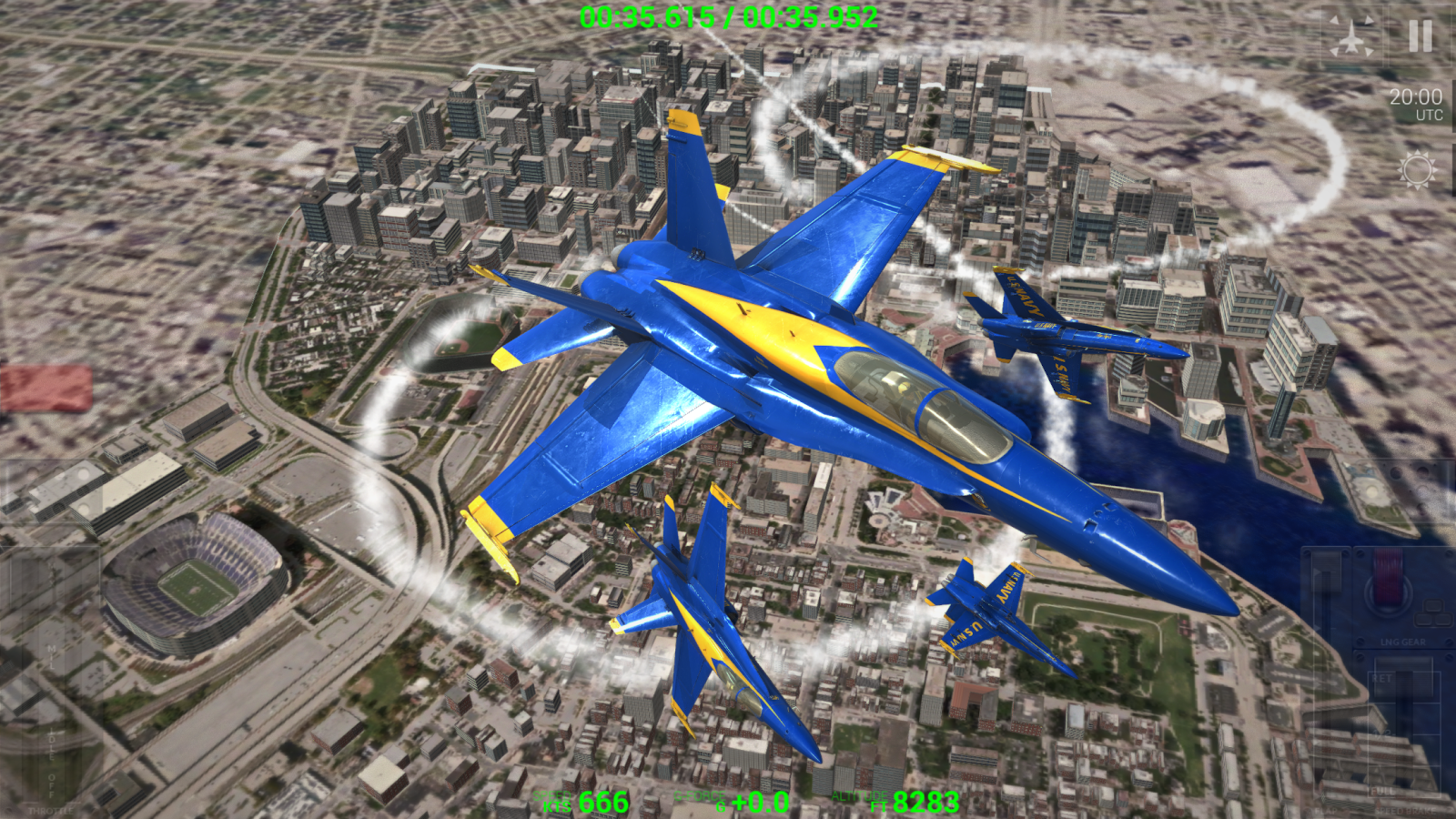 Blue Angels: Ready, Break! Screenshot 4