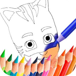 coloring Book for Pj Mask For PC