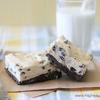 Chocolate Chip Peanut Butter Cheesecake Bars