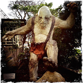troll by Donna Racheal - Buildings & Architecture Statues & Monuments ( lotr, monuments, troll, statues, artistic objects,  )